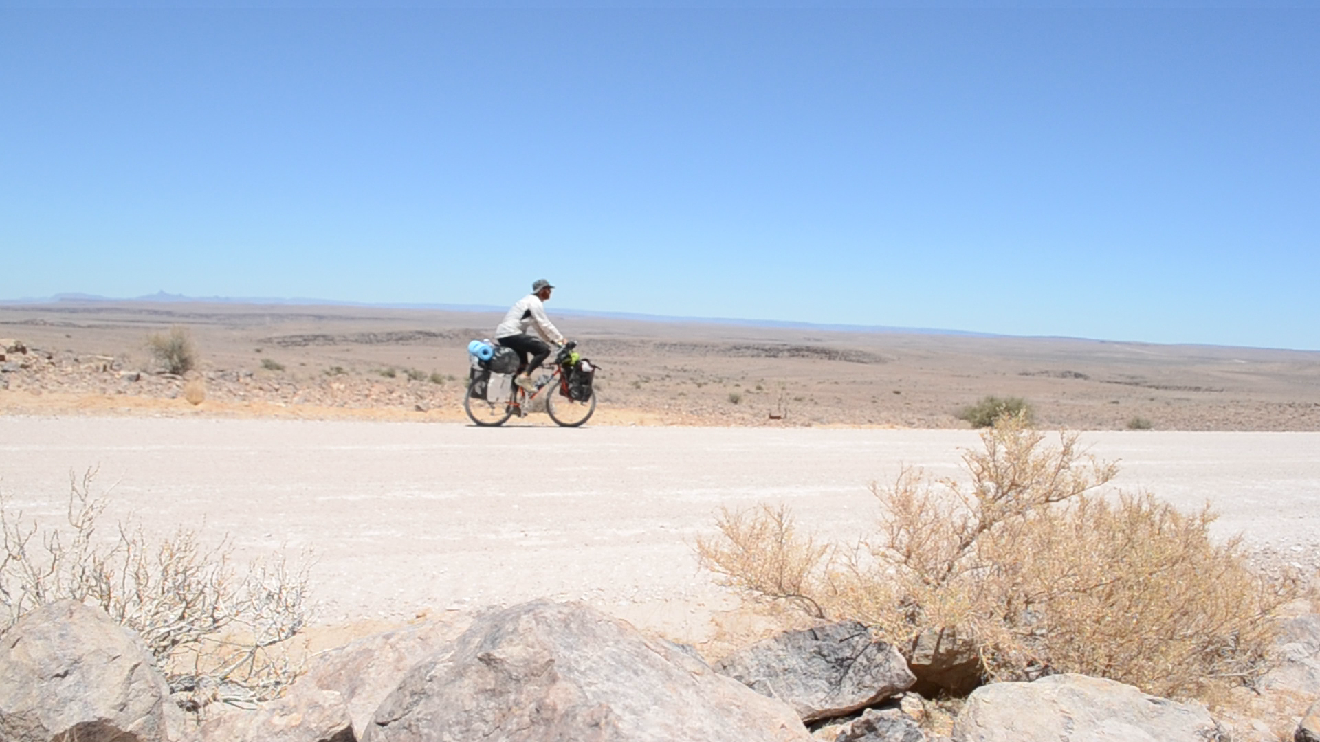 CYCLING SOLO ACROSS AFRICA