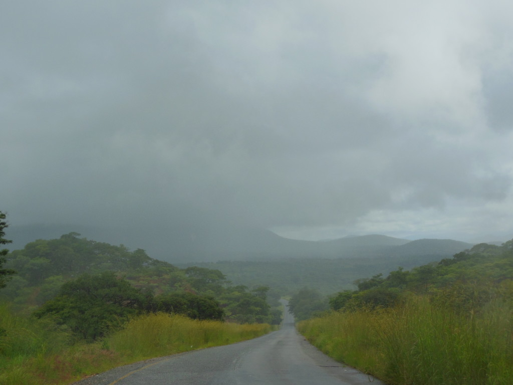 Rain and Mountains ahead
