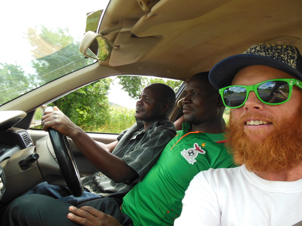 Zambia Taxi - One seat:Two drivers