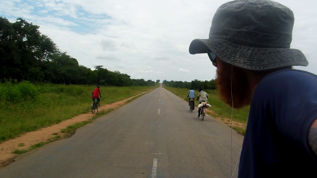 There are bicycles everywhere in Zambia, their main mode of transport