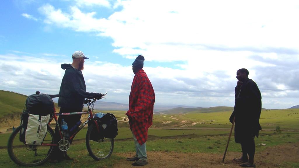 The Translator & the Masai Boys